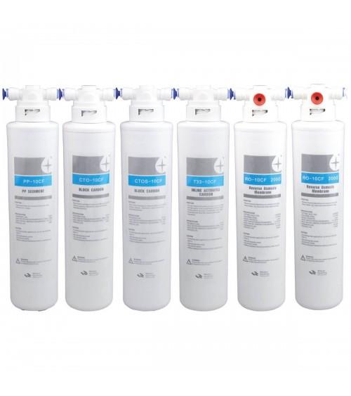 Kasečių rinkinys WaterLovers Snow Burg + 2x250 GPD membranos