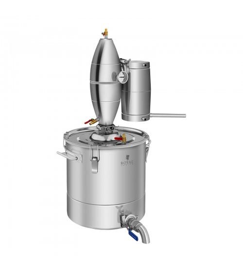 Metalinis vandens distiliatorius 30L