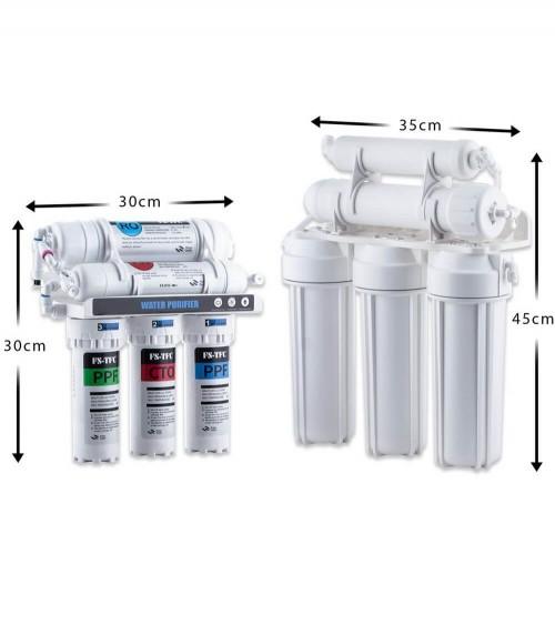 Vandens maišytuvas atvirkštinio osmoso sistemai PROTAP DG-B3310-Cr