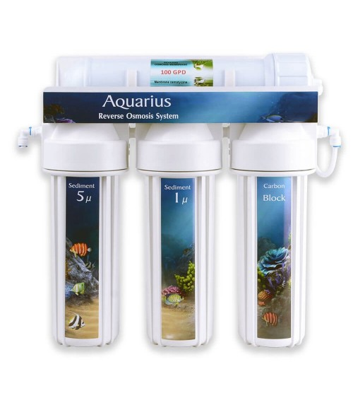 WaterLovers Aquarius MAXI - RO sistema akvariumams 100 GPD