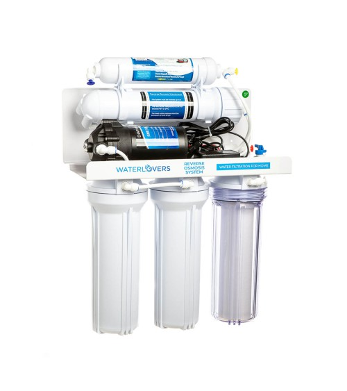 Atvirkštinio osmoso filtras RO6 su mineralizatoriumi 100 GPD
