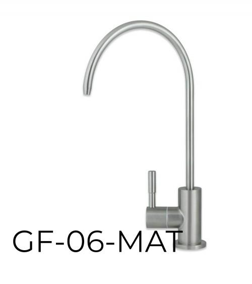 RO sistemai skirtas viengubas vandens maišytuvas WaterLovers GF 06 MAT