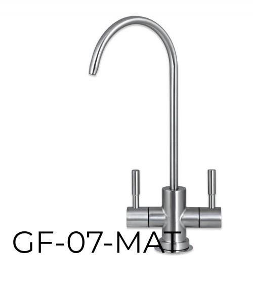 RO sistemai skirtas dvigubas vandens maišytuvas GF 07 MAT
