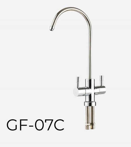 RO sistemai skirtas dvigubas vandens maišytuvas WaterLovers GF 07C