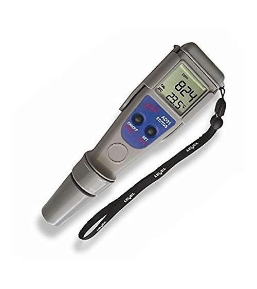 Adwa AD31 atsparus vandeniui kišeninis laidumo / druskingumo – temperatūros matuoklis su keičiamu elektrodu