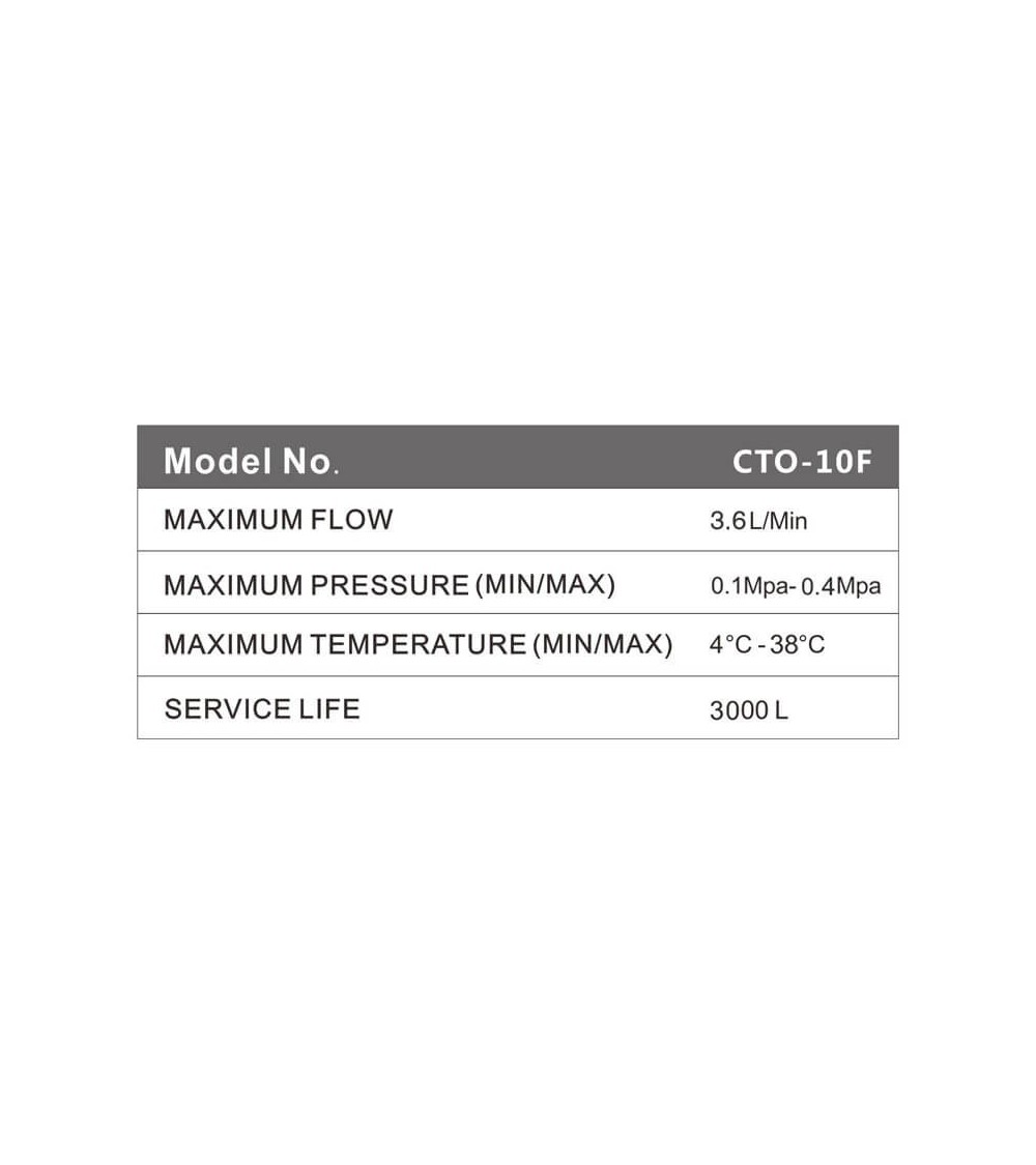 Vandens filtro maišytuvas GW-W1-15-CH